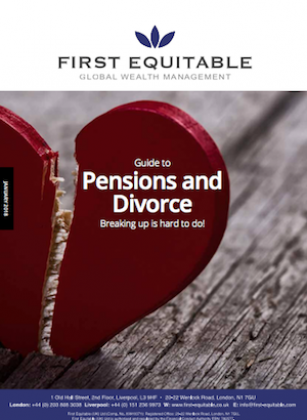 Guide to pensions & divorce